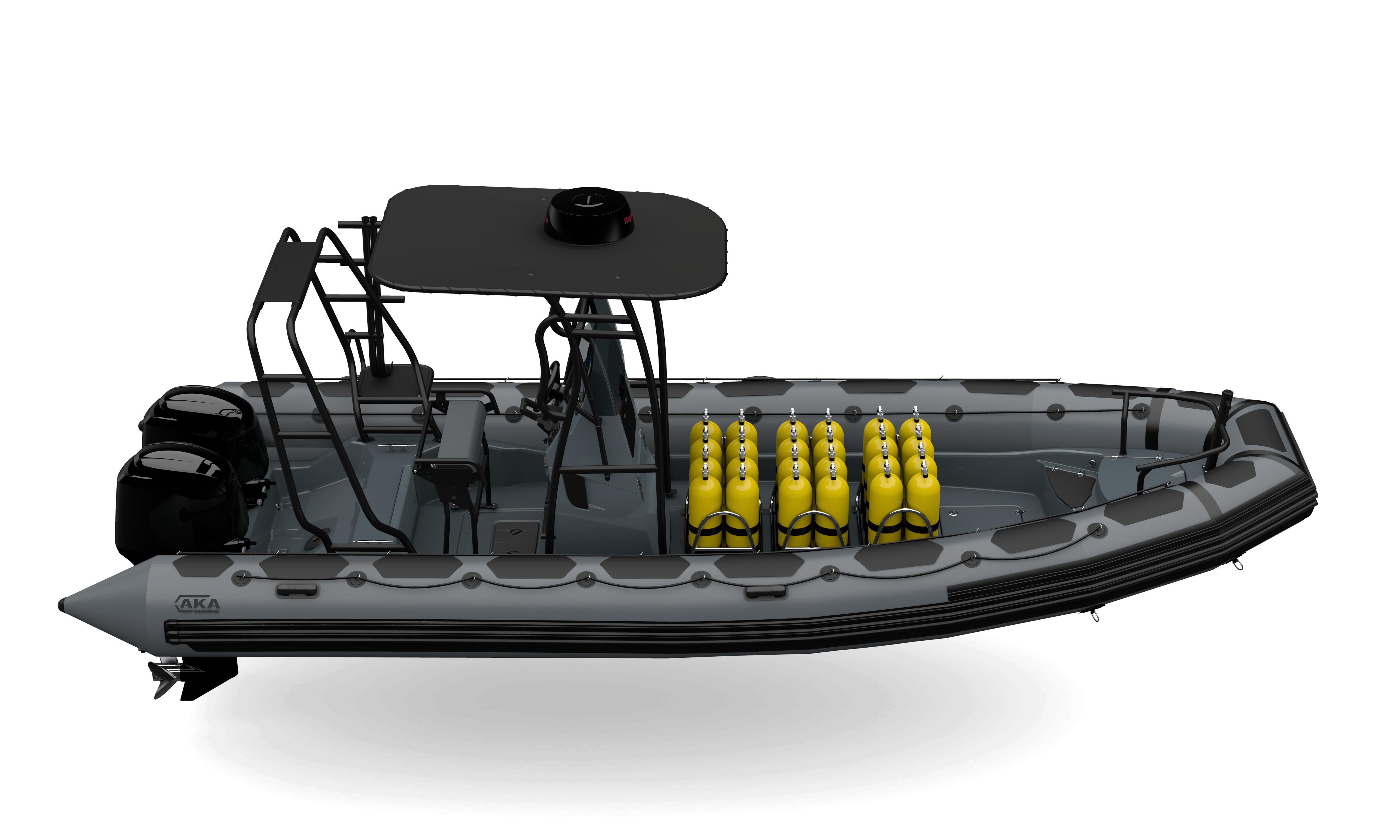 R75-C CSM CR GREY snork