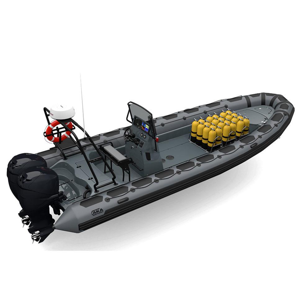 R85-C CSM-CR Snorkeling Grey